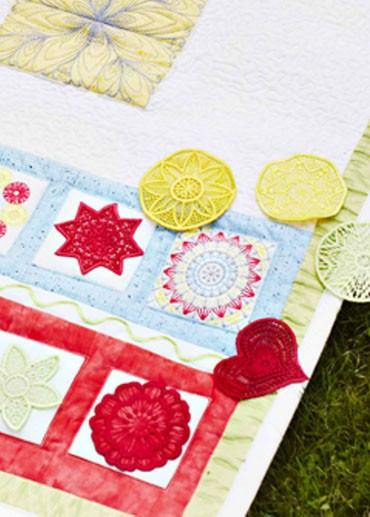 Small Square Hoop Embroideries