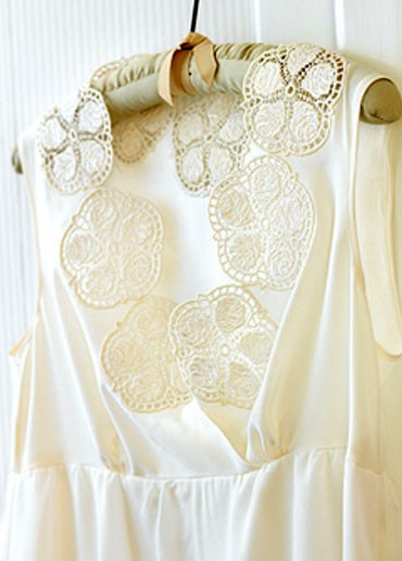 Enchantment in Free Standing Lace