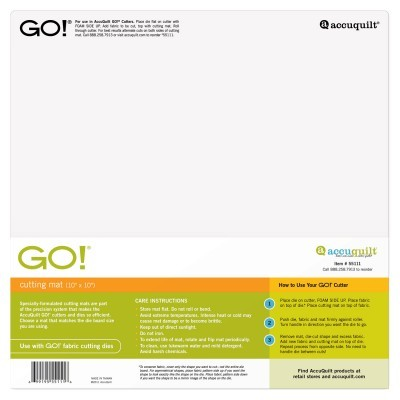 "Cutting mat 55111 GO! Cutting Mat-10"" x 10""/ 25 cm x 25 cm"